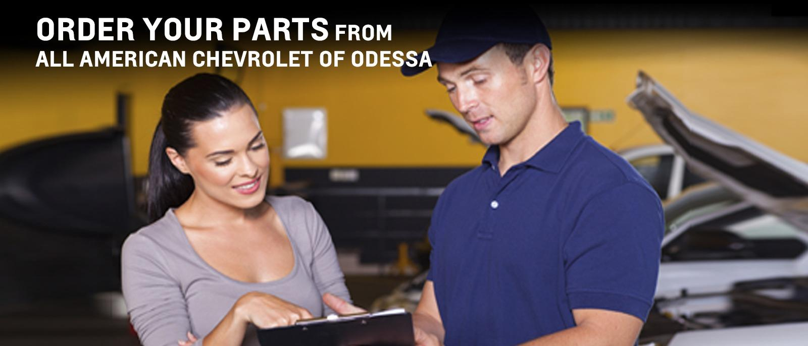 order your parts