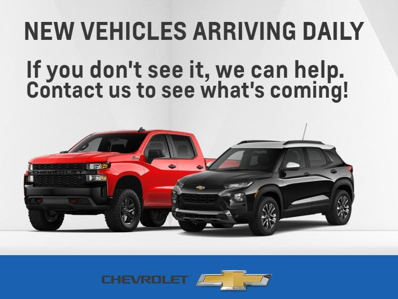NEW VEHICLES ARRIVING DAILY